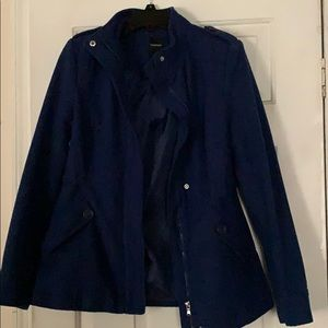 Beautiful blue pea coat